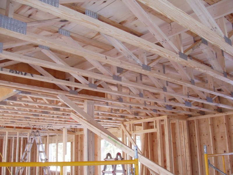 Photos Of Floor Truss Projects