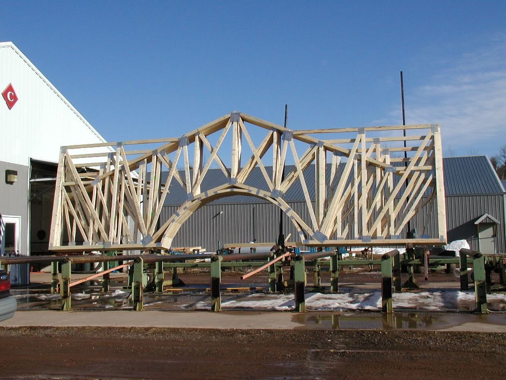 Roof Trusses K Wood Truss Rafters